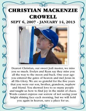 Christian Mackenzie  Crowell