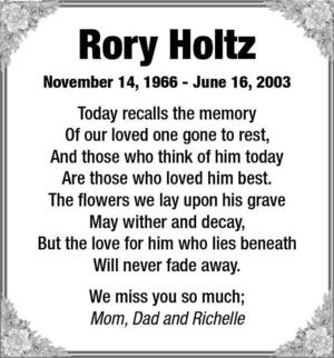 Rory  Holtz