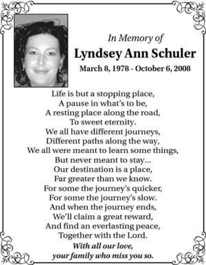 Lyndsey  Schuler