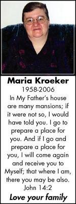 Maria  Kroeker