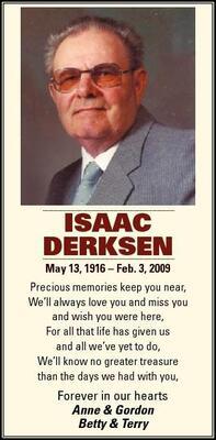 Isaac  Derksen