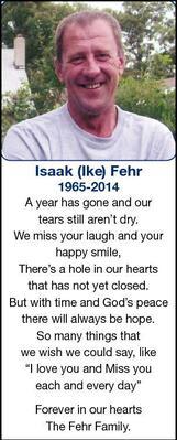 Isaak  Fehr