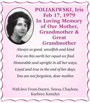Iris  POLIAKIWSKI