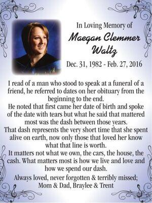 Maegan Clemmer  WALTZ