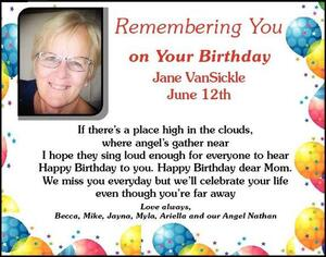 Jane  Vansickle