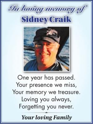 Sidney  CRAIK