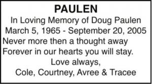 Doug  PAULEN