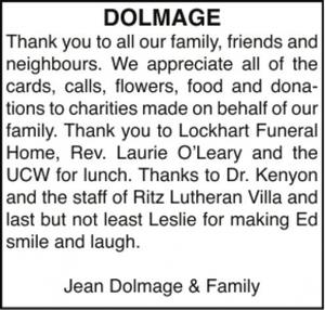 Jean  DOLMAGE