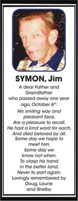 Jim  SYMON