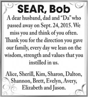Bob  SEAR