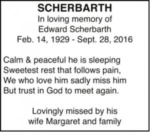Edward  SCHERBARTH