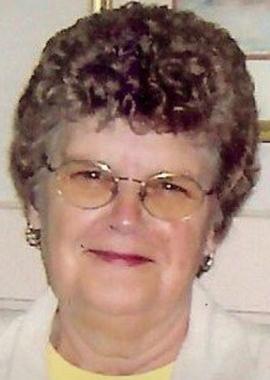 Nancy Jane Gilliland Folger, 75