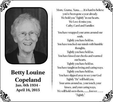 Betty  Copeland