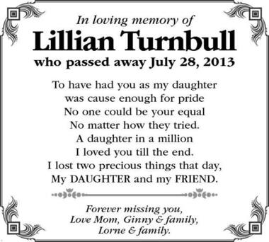 Lillian  Turnbull