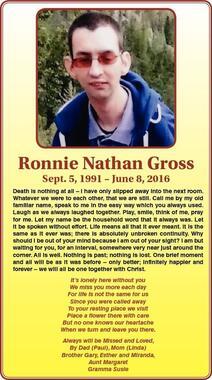 Ronnie  Gross