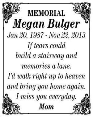 Megan  Bulger