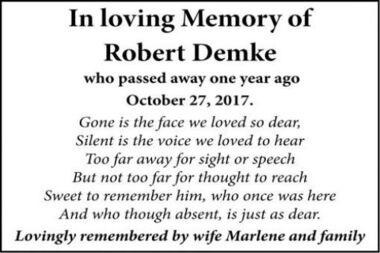 Robert  Demke