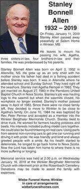 Stanley Bonnell  ALLEN