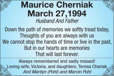 Maurice  CHERNIAK