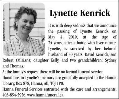 Lynette  KENRICK