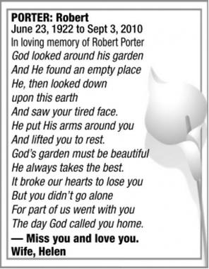Robert  PORTER