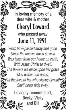 Cheryl  COWARD