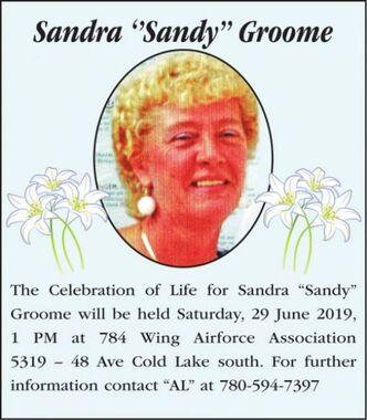Sandra ''Sandy  GROOME