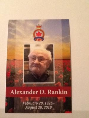 Alexander  Dobbie Rankin