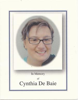 Cynthia  De Baie