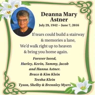 Obituaries | Wetaskiwin Times