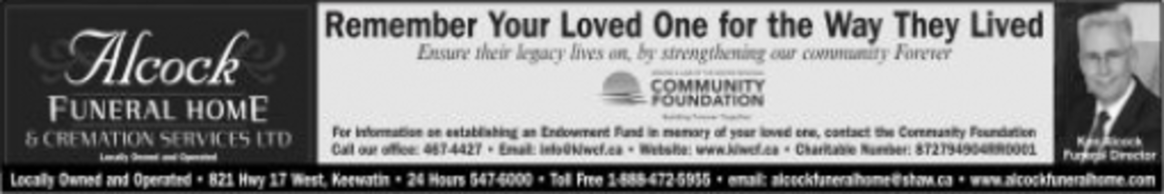 Obituaries | Kenora Daily Miner and News