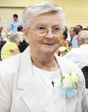 Sister Shirley Theresa Conlogue R.S.M.