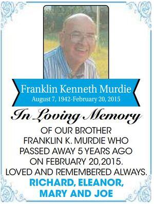 Franklin  Kenneth Murdie