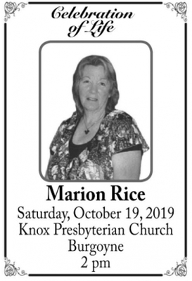Marion  RICE
