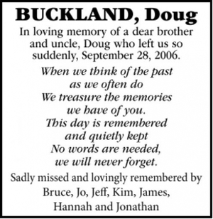 Doug  BUCKLAND