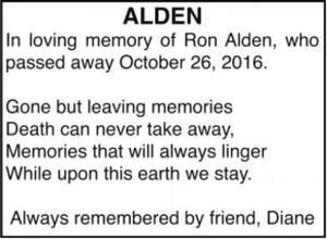 Ron  ALDEN