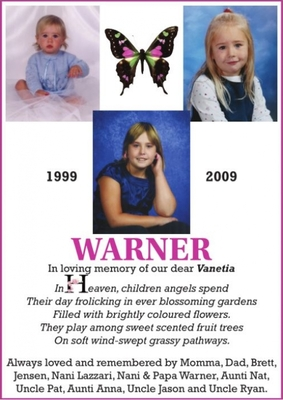 Vanetia  WARNER