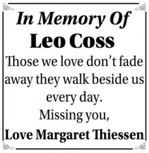 Leo  COSS