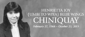 Henrietta  CHINIQUAY