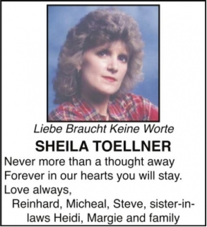 Sheila  TOELLNER