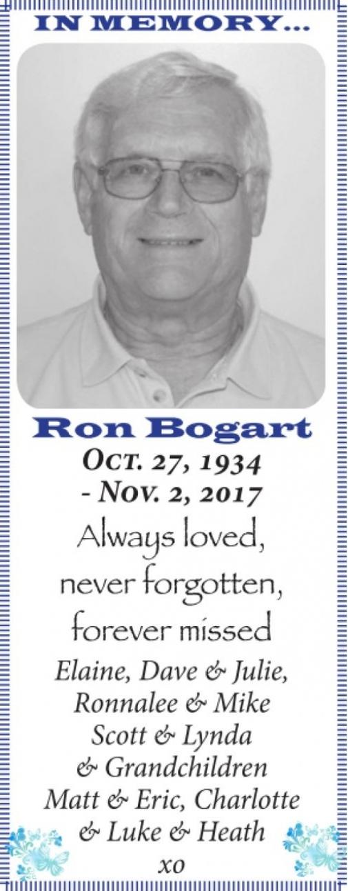 Ron  BOGART