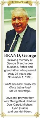 George  BRAND