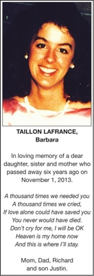 Barbara  TAILLON LAFRANCE