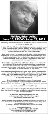 Brian Arthur  PHILLIPS