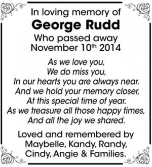 George  RUDD
