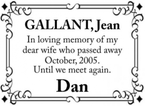 Jean  GALLANT