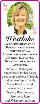 Bonnie  WESTLAKE