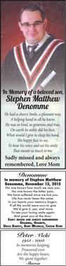 Stephen Matthew  DENOMME
