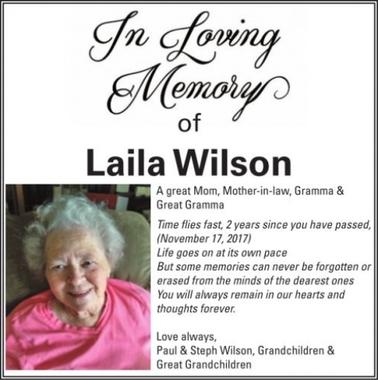 Laila  WILSON