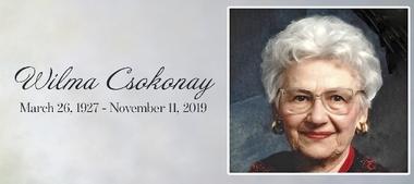 Wilma  CSOKONAY